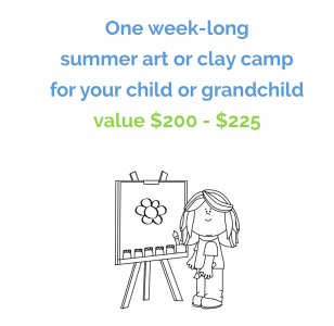 Kid's Art or Clay Camp