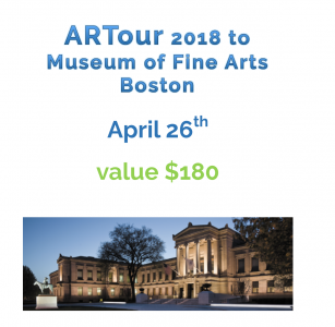 2 Tickets to MFA Bus Trip