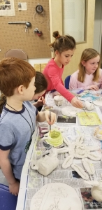 #5:  One Week-Long Summer Art or Clay Camp
