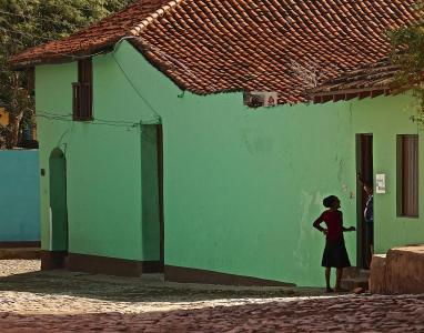 Morning Conversation, Trinidad, Cuba