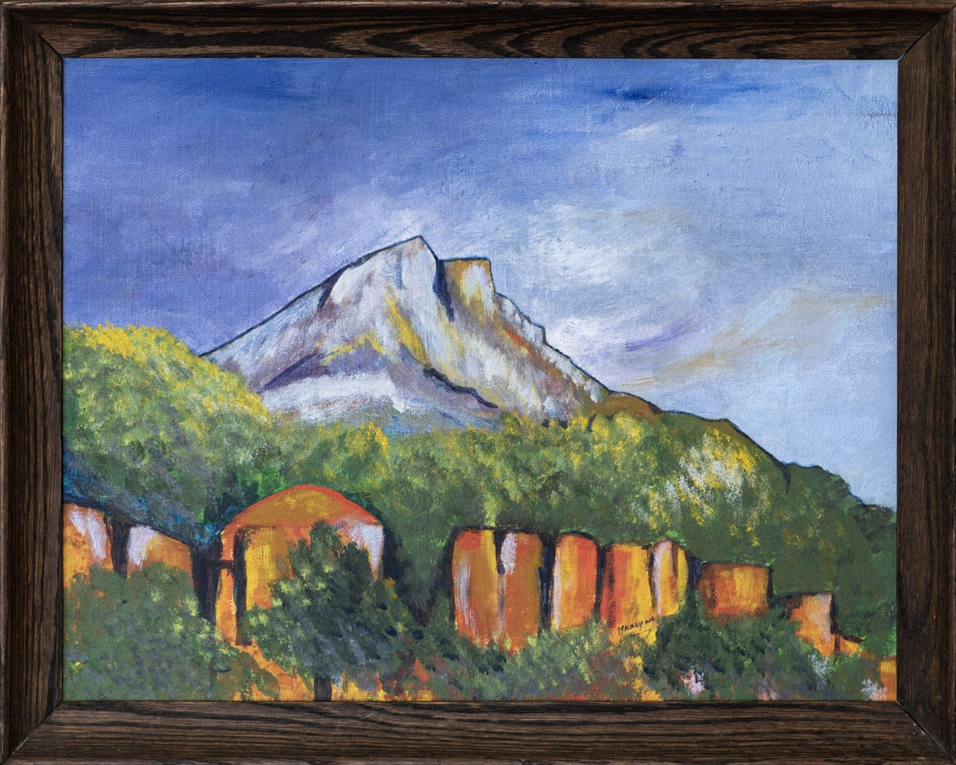 Iconic, Personified (Cezanne)