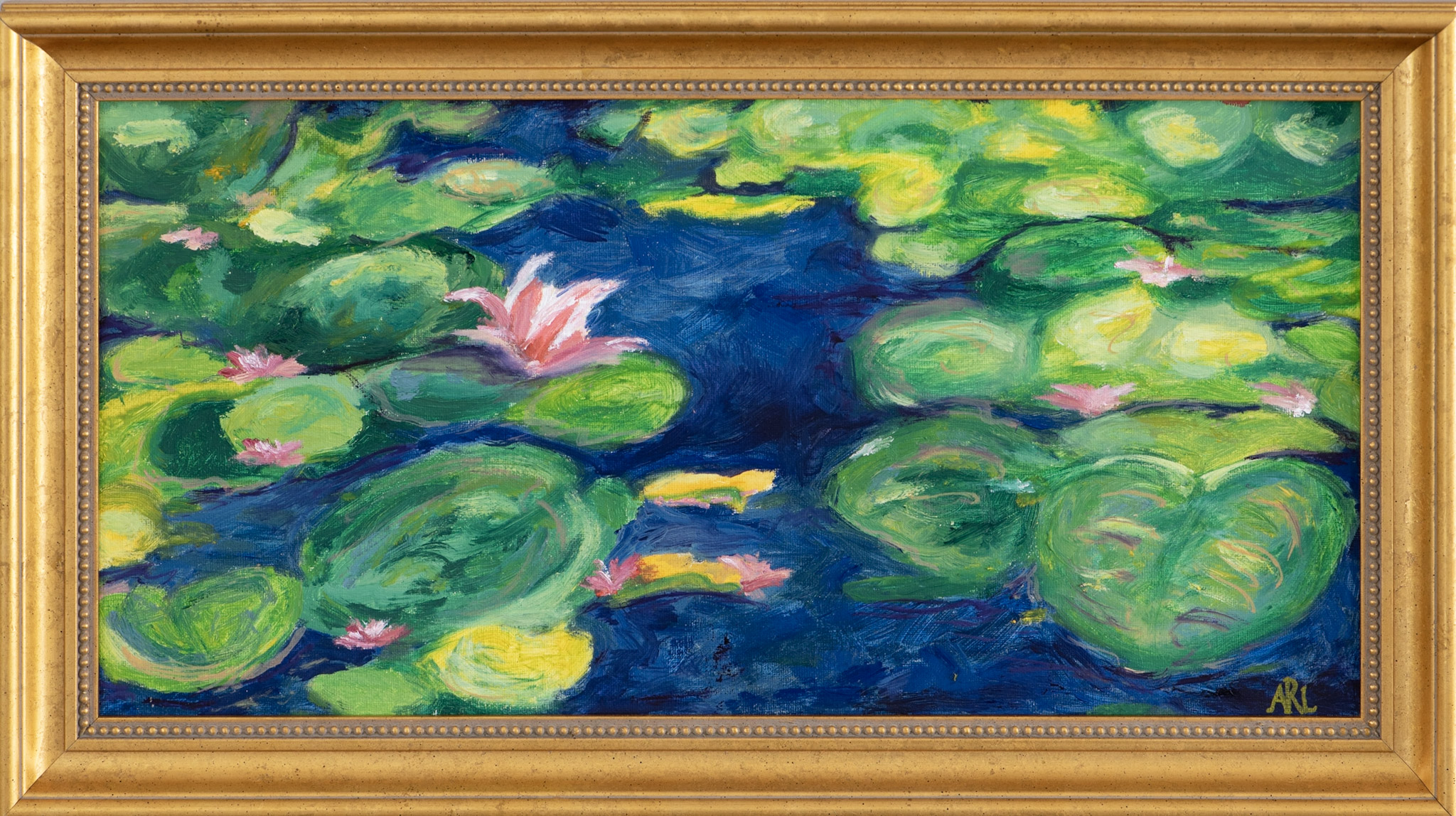 My Monet Inspired Water Lilies