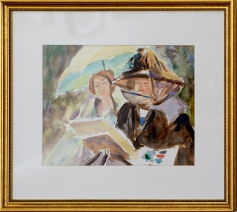 Plein Air Painter (After Sargent)