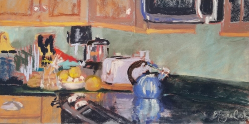 Betsy Payne Cook | Cook's Corner | pastel | $210