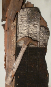 MacAndrews | Rebuilding (close up) | found objects | $1,200