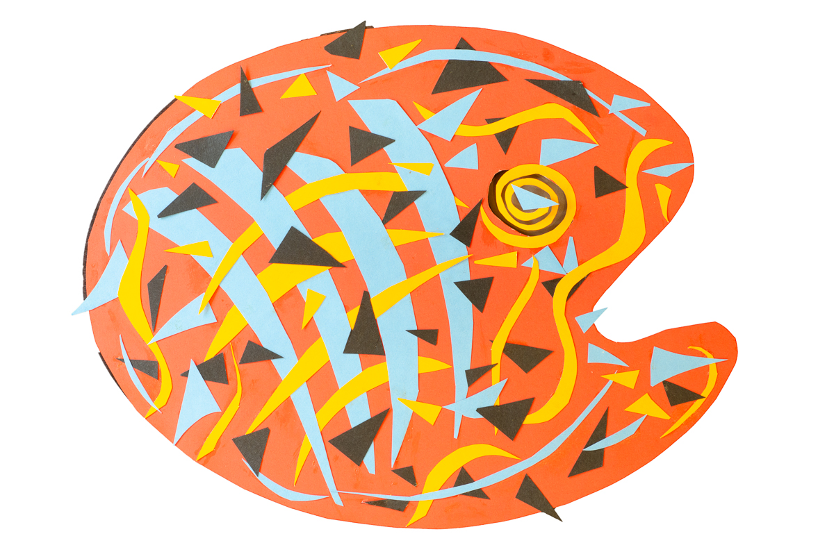 Not Blue Fish -- Paper