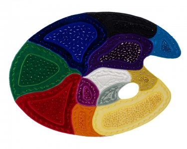 Abstract Palette -- Fiber