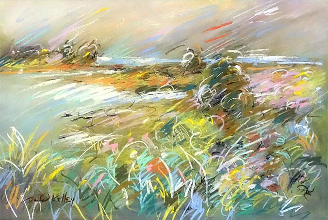 David Kelley pastel painting