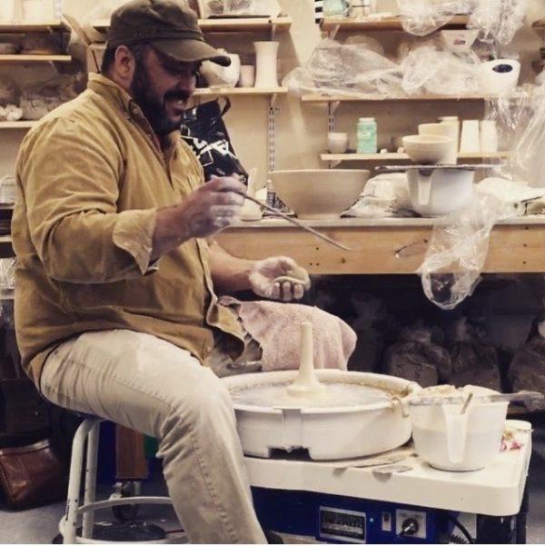 Seth Rainville ceramic artist