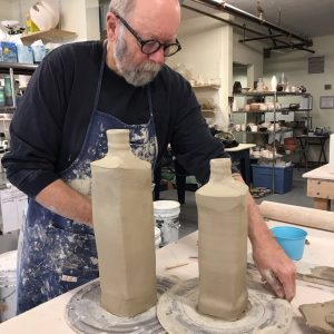 Ceramics Instructor Hollis Engley