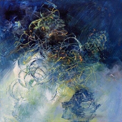 Ellen Davies  | Dancing in the Moonlight  | Acrylic  | $500