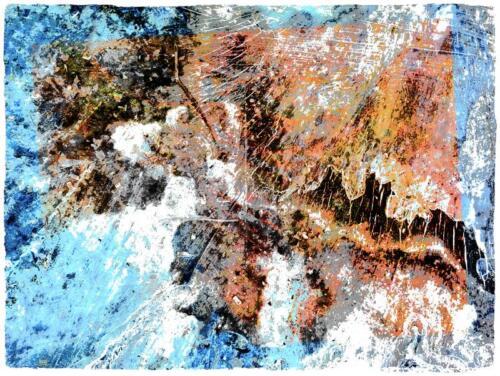 David E. Williamson  | Hard Rain Falling  | Photo-pigment ink on rag paper | $150