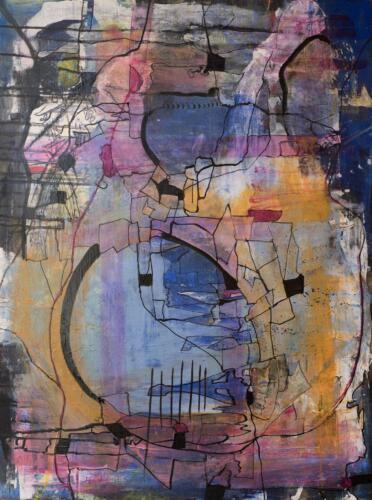 Ruth Ann Kane  | Journey  | Acrylic  | $250
