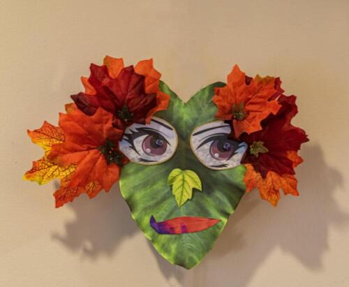 17. Leaf Mask | By Christine Anderson & Jay Phyfer