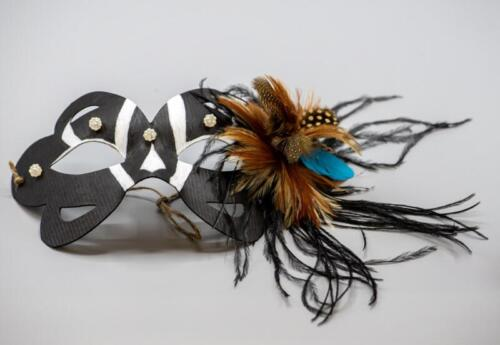 6. Fancy Feathers Masquerade | By Lisa Errico