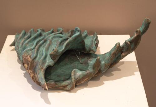 Corine Adams  | Untitled  | Clay | NFS
