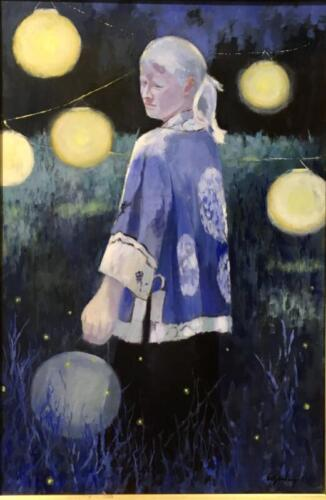In the Blue of the Evening by Maryalice Eizenberg